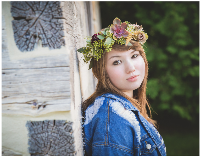 Door County Green Bay High School Senior Photography